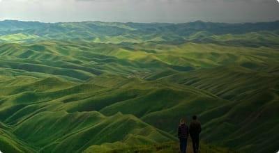 نمایی از استان گلستان