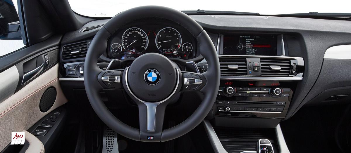 مشخصات BMW X4