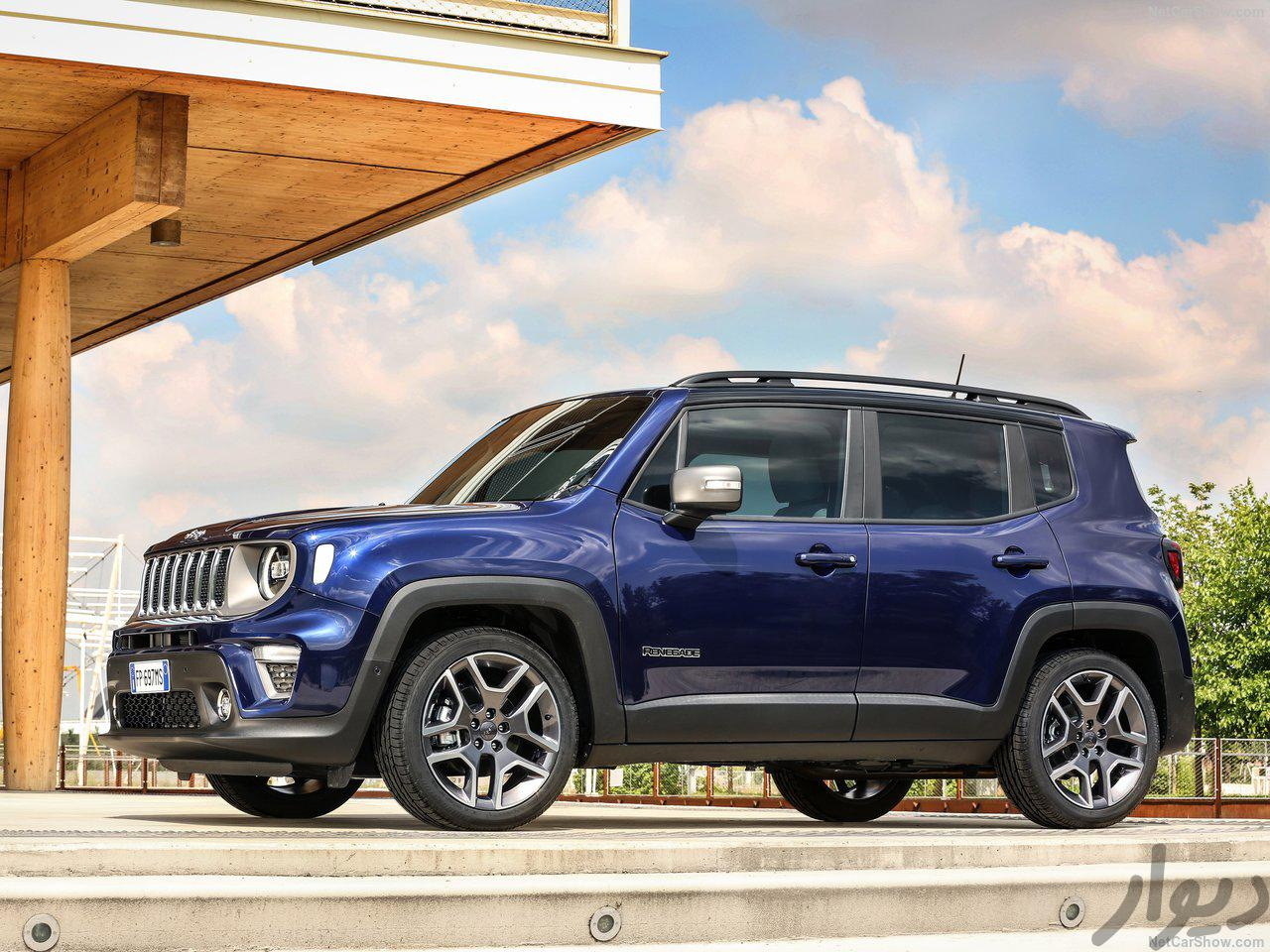 مشخصات Jeep Renegade