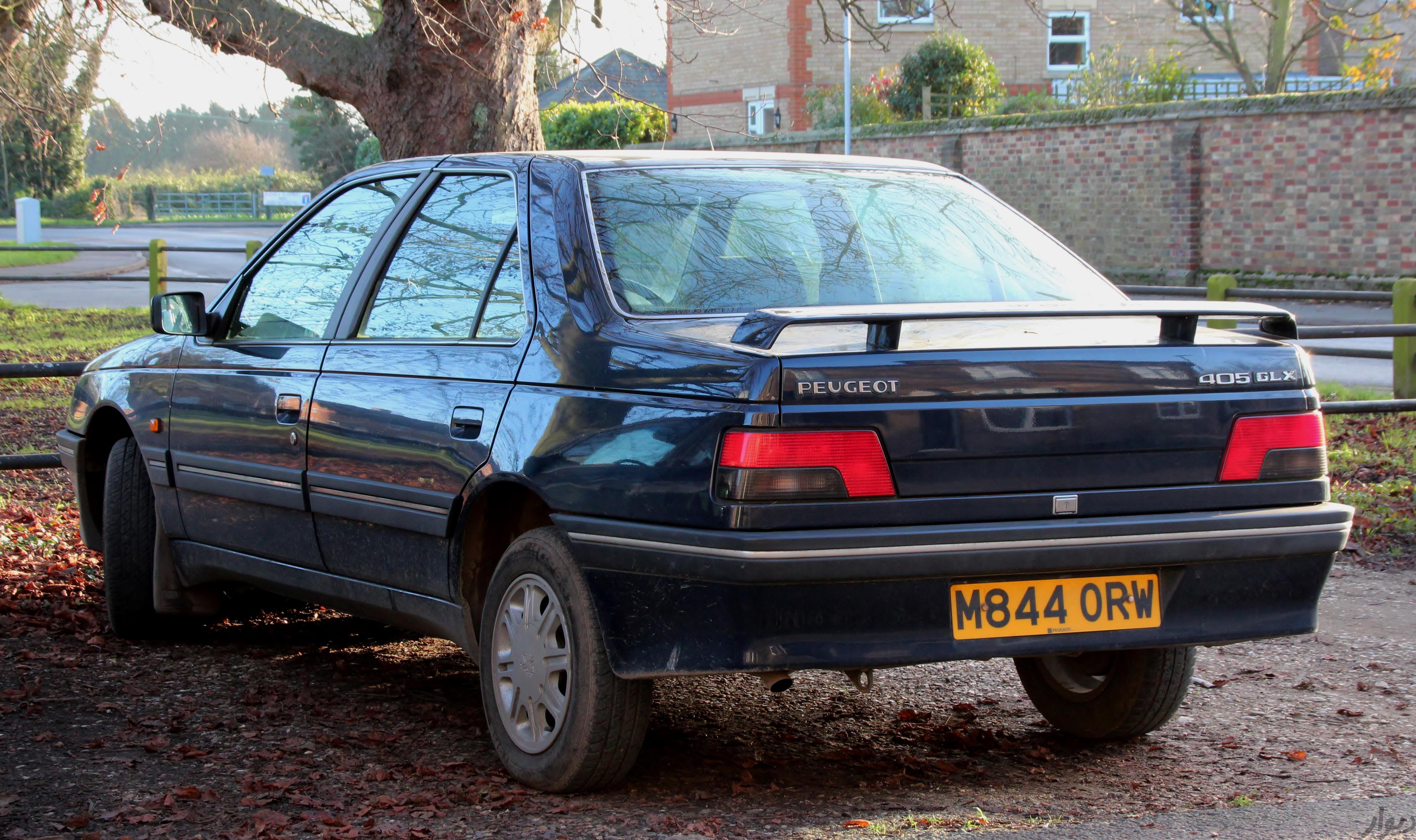 مشخصات Peugeot 405