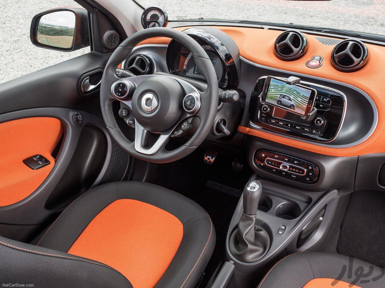 بررسی مشخصات فنی، نقد کارشناسی و قیمت روز خودرو اسمارت فور 4 - عکس شماره چهار