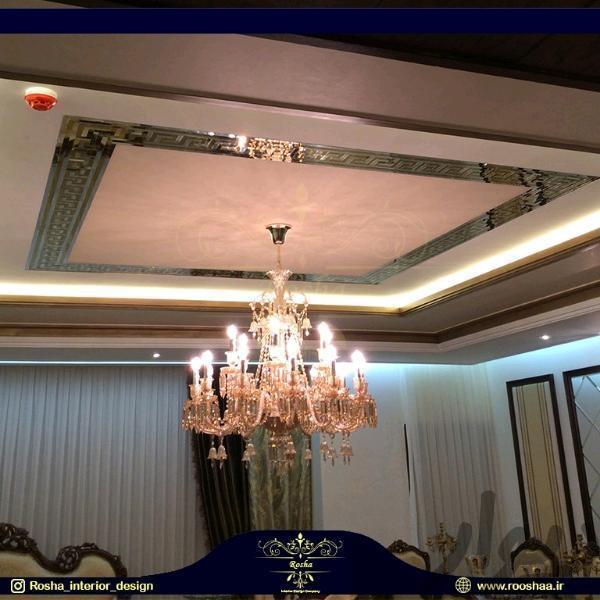آینه کاری دیواری و سقفی، طراحی و اجرا|تزئینی و آثار هنری|تهران شیرازی|دیوار