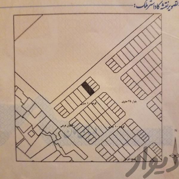 زرند زمین مسکونی نظریان|زمین و کلنگی|کرمان|دیوار