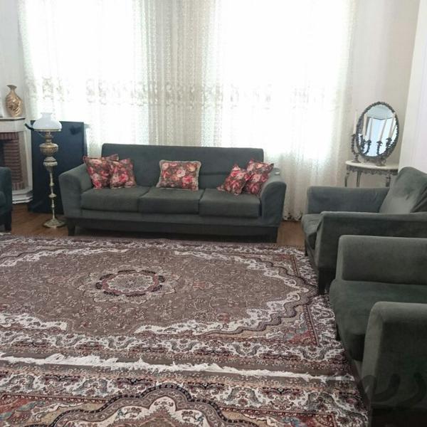 مبلمان یشمی رنگ با پارچه ضد لک|مبلمان و صندلی راحتی|تهران طرشت|دیوار