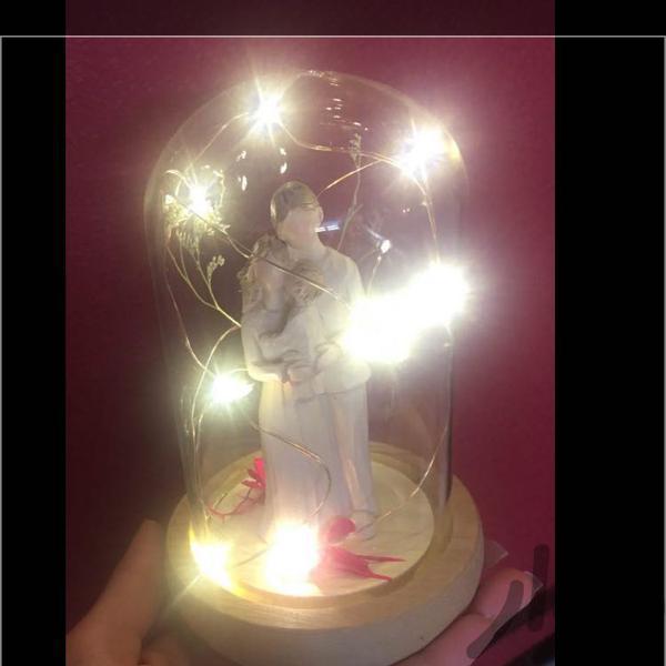 شب خواب و چراغ تزیینی هدیه مادروفرزند لوازم روشنایی قم باجک (۱۹ دی) دیوار