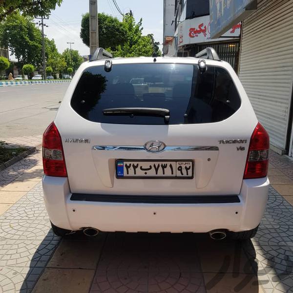 هیوندای توسان ۲۰۰۸ فول شرکتی در حد صفر|سواری|آمل|دیوار