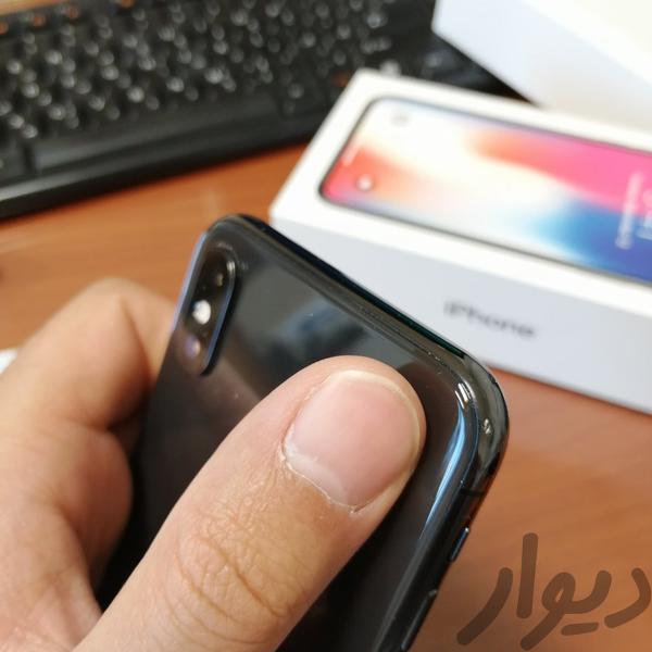 ایفون ایکس 256 مشکی موبایل بروجرد دیوار