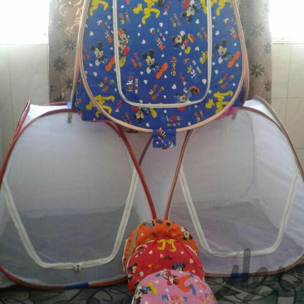 یک در یک متر پشه بند بچه|اسباب و اثاث بچه|قم کلهری|دیوار