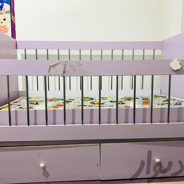 تخت خواب کودک|تخت و صندلی بچه|بندر ماهشهر|دیوار
