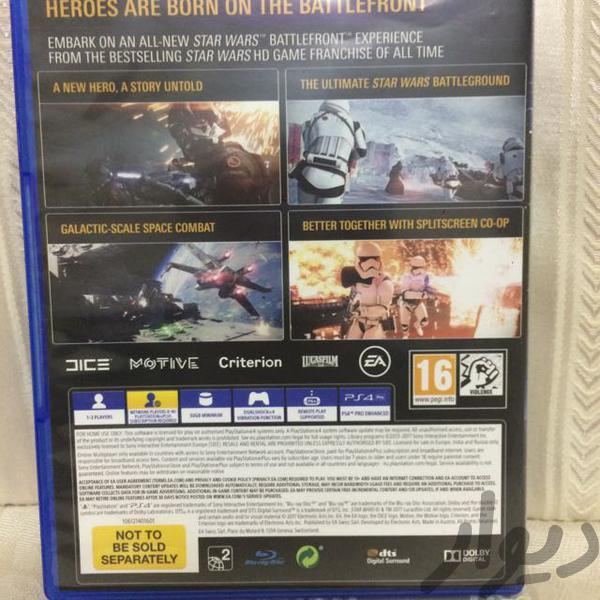 battlefront 2|کنسول، بازی ویدئویی و آنلاین|تهران افسریه|دیوار