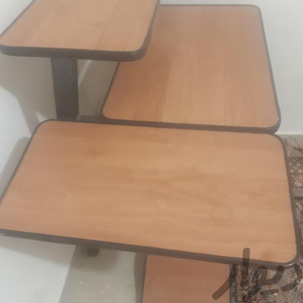 میزکامپیوتر تمیز و سالم دارای چهارچرخ|میز و صندلی|کرج شهر جدید هشتگرد|دیوار