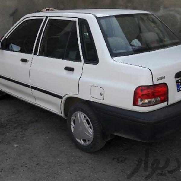 پراید 131 سفید دوگانه فابریک|سواری|نجفآباد|دیوار
