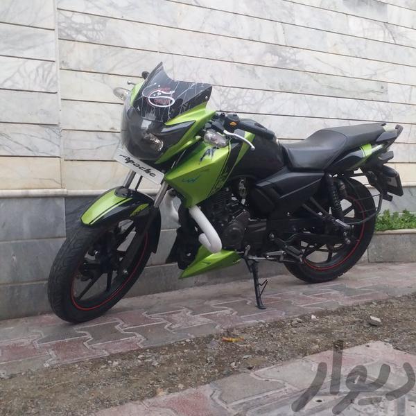 اپاچی موتورسیکلت و لوازم جانبی بیرجند دیوار