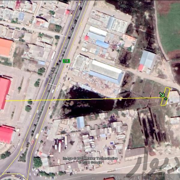 فروش 224 متر زمین گنبد بلوار معلم جنب سالن المپیک|زمین و کلنگی|گنبد کاووس|دیوار