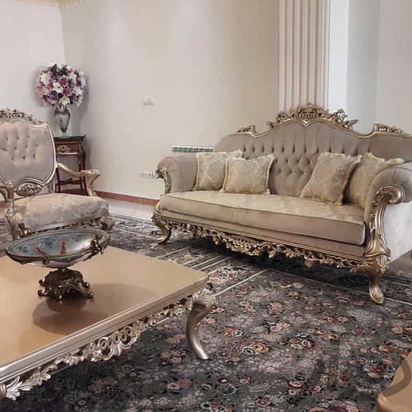 مبلمان مدل گلاره ۹ نفره با میز و دو عدد عسلی|مبلمان و صندلی راحتی|تهران، مبارکآباد بهشتی|دیوار
