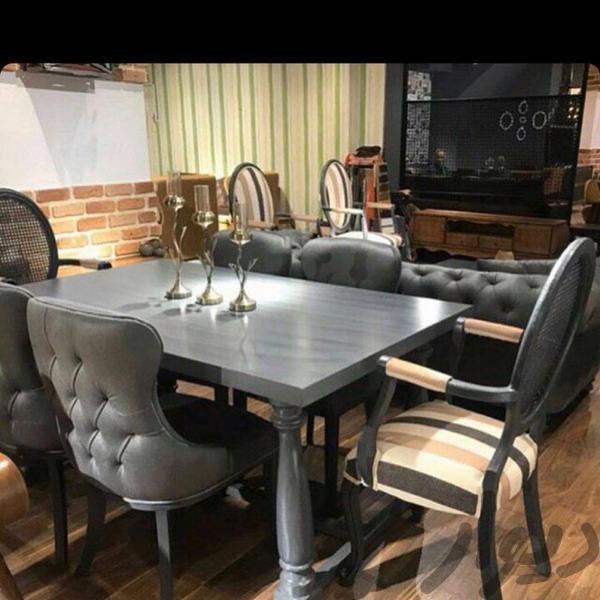 مبلمان مدل چستر لوگانی ۷ نفره با میز و دو عسلی|مبلمان و صندلی راحتی|تهران، مبارکآباد بهشتی|دیوار