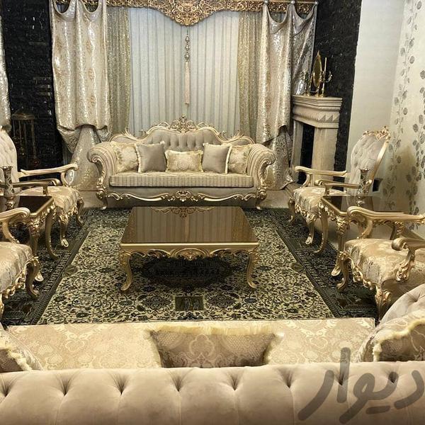 مبلمان مدل افسون ۹ نفره با میز و دو عدد عسلی|مبلمان و صندلی راحتی|تهران، مبارکآباد بهشتی|دیوار