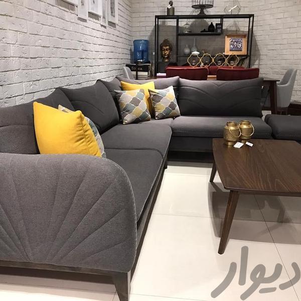 مبل راحتی مدل ال ساندرا شرکتی اصل کامل با تک و پاف|مبلمان و صندلی راحتی|تهران، اتحاد|دیوار