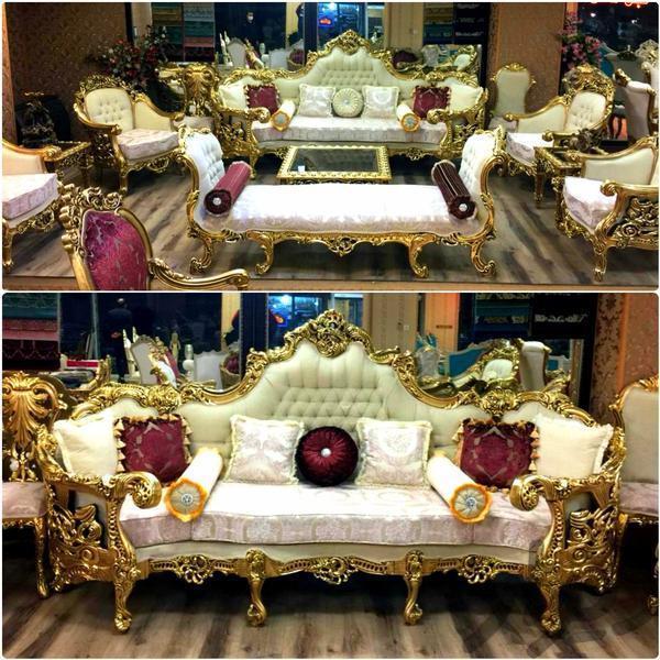 مبل استیل سلطنتی _خرچنگی سلطان|مبلمان و صندلی راحتی|تهران، شهرک ولیعصر|دیوار