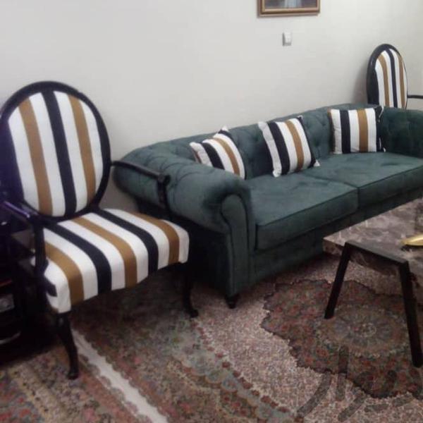 مبل چستر راک ۷نفره مبلمان و صندلی راحتی تهران، تهرانپارس غربی دیوار