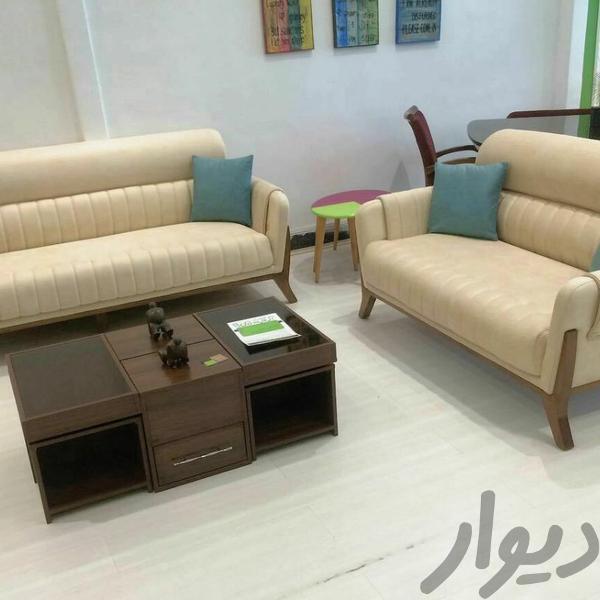 مبل راحتی۷ نفره آماندا مدرن و ژورنالی شرکتی اصل مبلمان و صندلی راحتی تهران، اتحاد دیوار