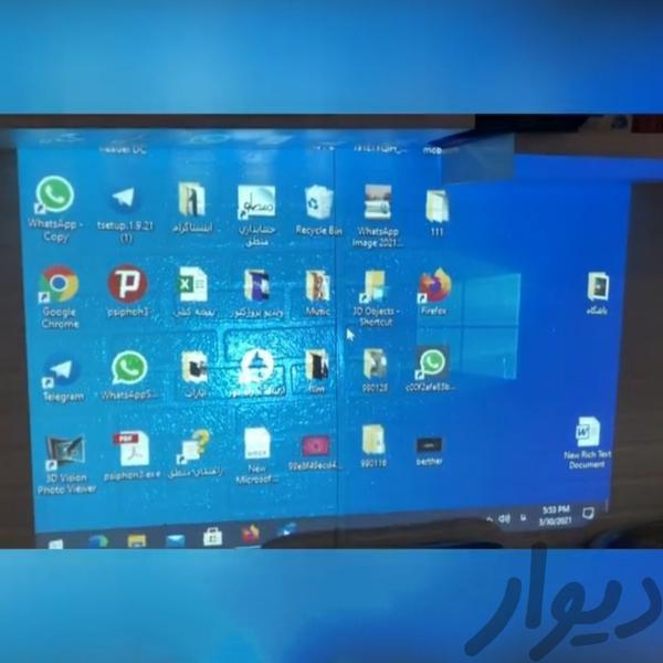 ویدیوپروژکتور آمریکایی با مهلت تست|تلویزیون و پروژکتور|تهران، نارمک|دیوار