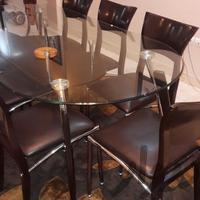 میزو صندلی ۸ نفره میز و صندلی تهران_مجیدیه دیوار