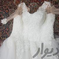 لباس عروس ۳۸_۴۰ دوخت مزون تهران لباس کرج_گوهردشت دیوار