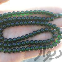 تسبیح سندلوس ۱۰۱ دانه ای سبز آب حیاتی|جواهرات|آبادان|دیوار