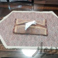 رومیزی و جادستمالی ست|پرده و رومیزی|شیراز_زرگری|دیوار