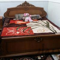سویس خواب تمام چوب|تخت و اتاق خواب|قم_آذر|دیوار