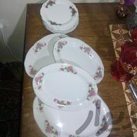 چینی گلسرخی|وسایل آشپزی و غذاخوری|شیراز_کوی زهرا|دیوار