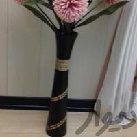 گلدان چوبی|تزئینی و آثار هنری|اهواز_پادادشهر|دیوار