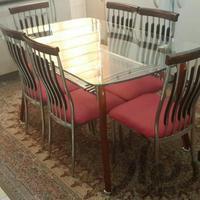 میز نهارخوری|میز و صندلی|اراک|دیوار