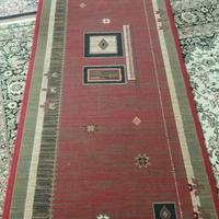 فرش کناره طرح گلیم ۱×۴ فرش و گلیم زنجان دیوار
