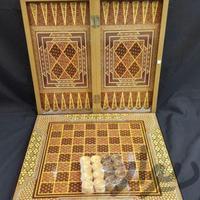 تخته نرد و شطرنج طرح خاتم|اسباب بازی|تهران_تهرانپارس غربی|دیوار
