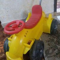 چهارچرخ حمل کودک دارای میله کنترل والدین|اسباب بازی|تهران_تهرانسر|دیوار