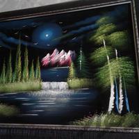 تابلو نقاشی سایز خیلی بزرگ|تزئینی و آثار هنری|مشهد_فلکه ضد|دیوار