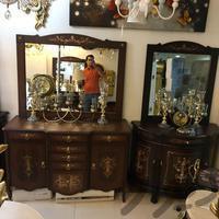 آینه کنسول آینه شمعدان بوفه به قیمت پخش|تزئینی و آثار هنری|مشهد_خیام|دیوار