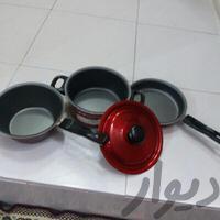 سرویس قابلمه تفلون کوچک|وسایل آشپزی و غذاخوری|قزوین|دیوار