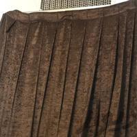پرده قهوه ای  ۱/۵ * ۱/۵ پرده و رومیزی کرمان دیوار