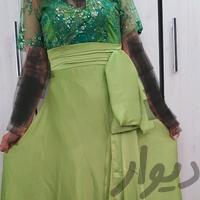لباس مجلسی حریرو گیپور|لباس|اهواز_معین زاده|دیوار