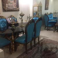 مبلمان استیل و نهار خوری ست  مبلمان و صندلی راحتی تهران_نارمک دیوار