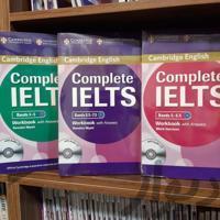 کتاب زبان کامپلت آیلتس complete ielts