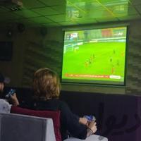ویدیو پروژکتور پخش مسابقات فوتبال