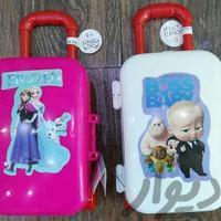 شانسی چمدان چرخ دار Toys